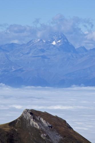 Mont Argentera, above the Savoy Clouds
